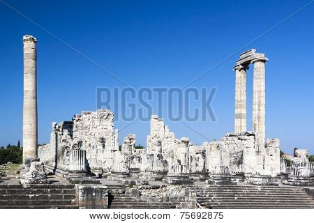 Temple And Oracle Of Apollon