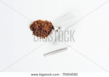 Tobacco Kit And Cigarette