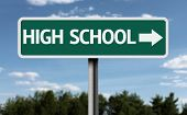 picture of post-teen  - High School creative sign - JPG