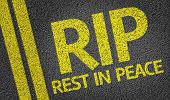 image of rest-in-peace  - RIP  - JPG
