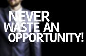 foto of waste management  - Never Waste An Opportunity - JPG