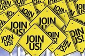 stock photo of joining  - Join Us - JPG