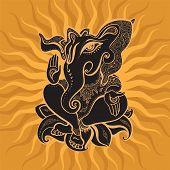pic of hindu-god  - Hindu God Ganesha - JPG