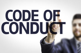 picture of conduction  - Business man pointing to transparent board with text - JPG