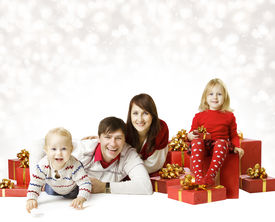 foto of new years baby  - Christmas Family Portrait - JPG