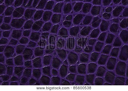 Purple Embossed Leather Texture Background