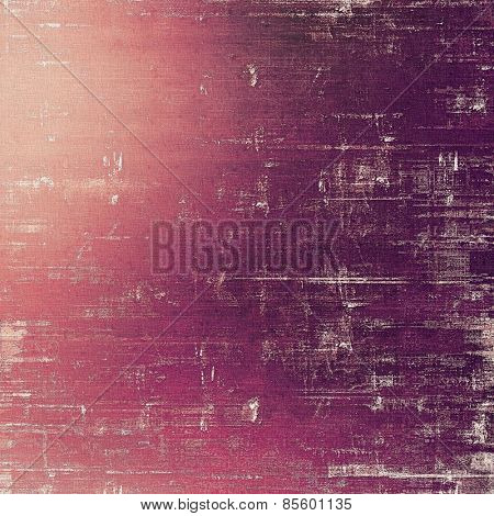 Abstract old background with rough grunge texture. With different color patterns: purple (violet); pink