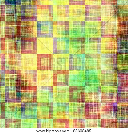Grunge texture, Vintage background. With different color patterns: yellow (beige); purple (violet); green; blue