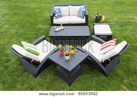 Comfortable Deep Modern Garden Furniture
