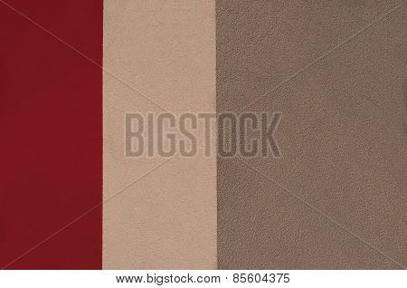 Abstract Tricolor In Red Colors