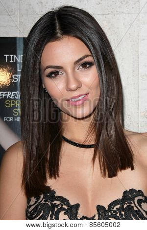 LOS ANGELES - MAR 12:  Victoria Justice at the Kode Magazine Spring 2015 Cover Party at the The Standard on March 12, 2015 in West Hollywood, CA