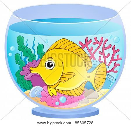 Aquarium theme image 2 - eps10 vector illustration.