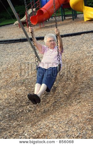 Swinging Grandmother 5