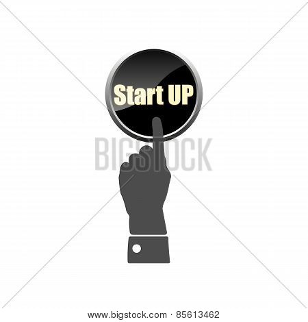 New Business Start Up  Projects, Vector Illustration