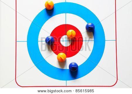 Mini Curling Stones