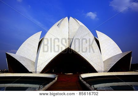 Lotus Temple,Bhai Temple, New Delhi