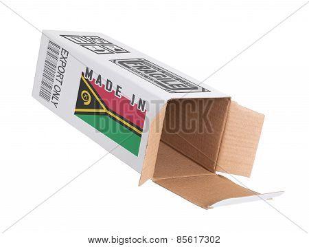 Box from Vanuatu