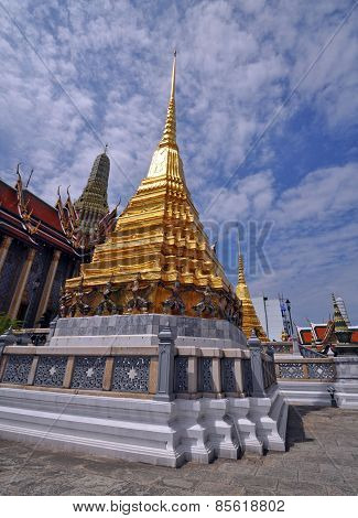 Grand Palace Architecture Bangkok