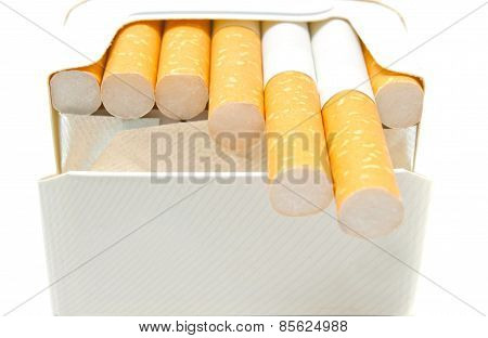 Some Cigarettes In Pack