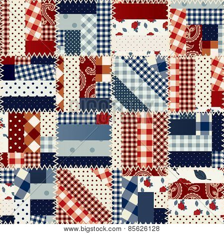 Patchwork in country style