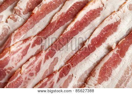 Raw Bacon.
