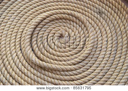 Circle Bunch Of Ship Rope