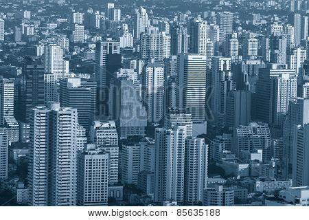 a bird's eye view of bangkok
