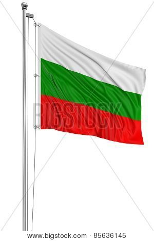 3D Bulgarian flag