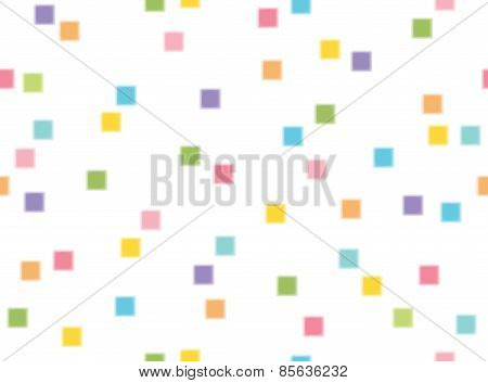Vector  Squares Shape  Seamless Pattern.