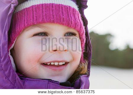 Smiling Cute Little Girl