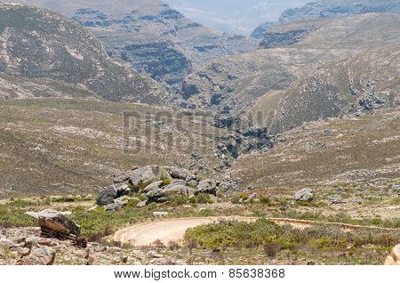 Inhospitable Valleys Of The Arid Swartberg