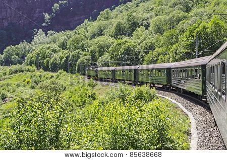 Falmsbana In Its Railway