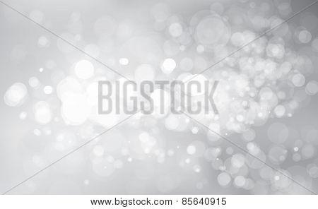 Vector glitter silver background.