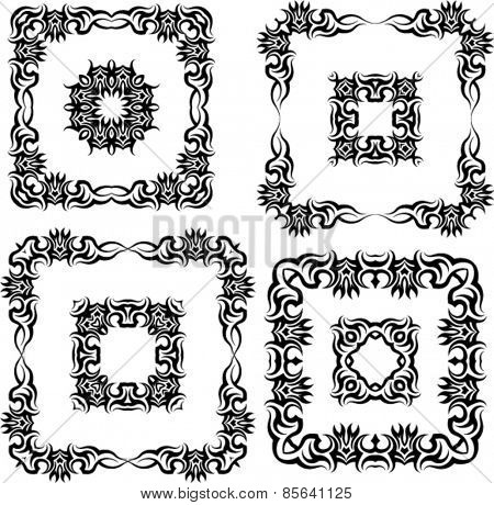 Tribal Tattoo Design Vector Art