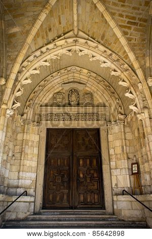 Santander Cathedral, Main Door To The Church