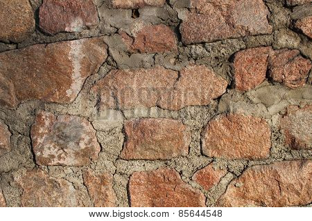 Cobblestone wal texture