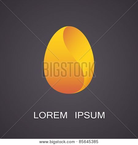 Vector illustration of symbolic images eggs