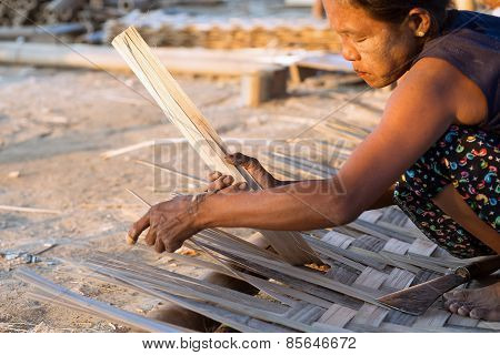 Manufacture Of Bamboo Walls