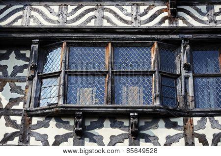 Elizabethan building detail, Stafford.