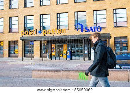 Helsinki. Finland. Central Post Office