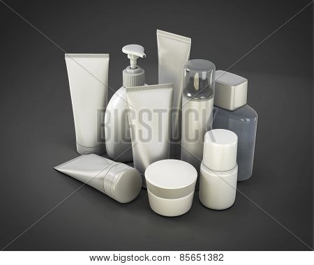 Cosmetic Set From Various Means