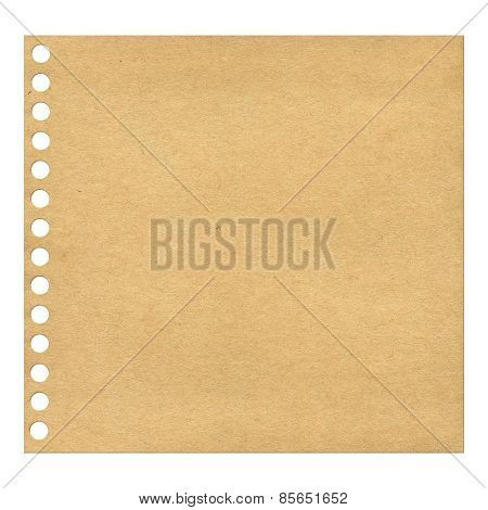 Recycled Blank Paper.