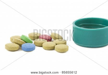 Medicines Colored