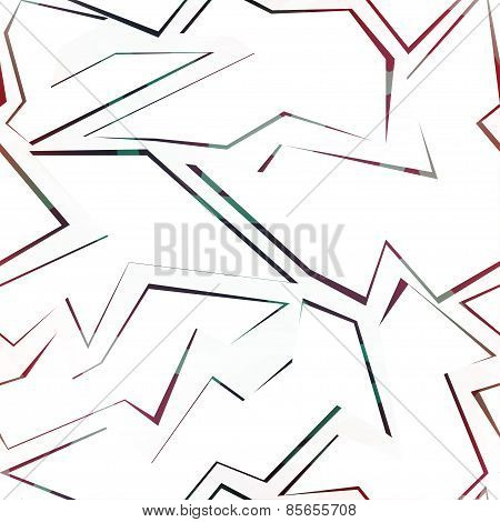Colored Debris Seamless Pattern