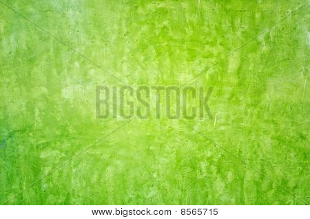Green Color Wall