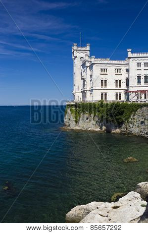 Miramare Castle By The Sea