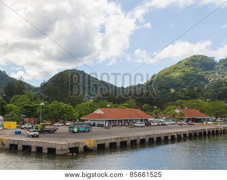 Port Of The Island Of Mahe