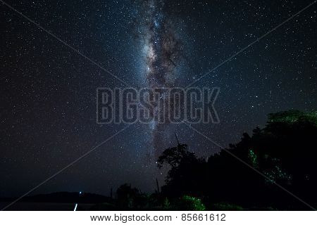 The Milky Way From The Equator Line