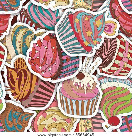 Cupcake Pattern