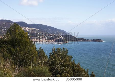Lerici Typical Village In Liguria, Italy